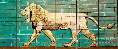 Lion Of Babylon Art Print by Unknown - Local Iraqi National