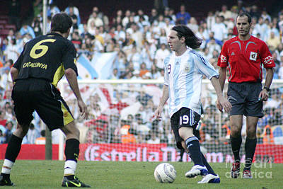Photograph - Lionel Messi 2 by Agusti Pardo Rossello