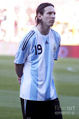 Photograph - Lionel Messi by Agusti Pardo Rossello