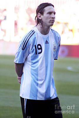 Photograph - Lionel Messi by Agusti Pardo Rossello