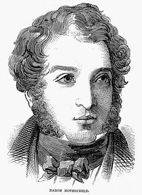 Lionel Nathan De Rothschild Art Print by Granger