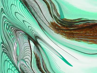 Op Art Photograph - Liquid Flow by Marcia Lee Jones