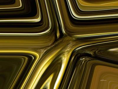 Digital Art - Liquid Gold by Greg Reed Brown