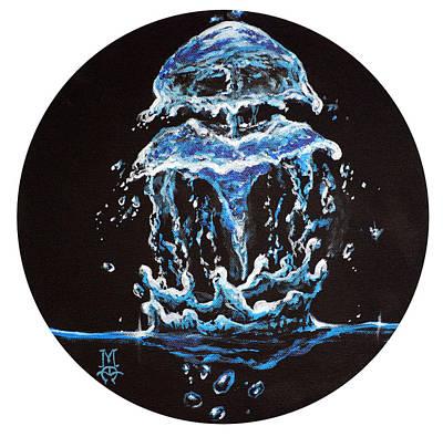 Liquid Jelly Art Print by Marco Antonio Aguilar