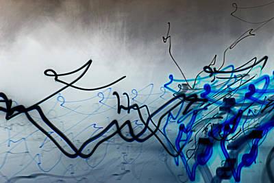 Liquid Motion Art Print by Tami Rounsaville
