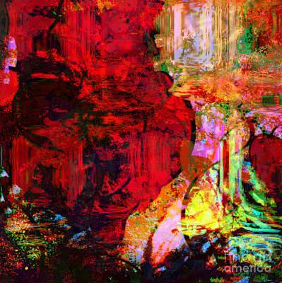Yesayah Mixed Media - Liquid Paint by Fania Simon