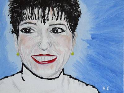 First Daughters Painting - Lisa Minnelli by Horace Cornflake
