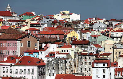 Photograph - Lisbon Cityscape I by John Rizzuto