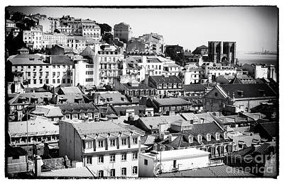 Photograph - Lisbon Cityscape Iv by John Rizzuto
