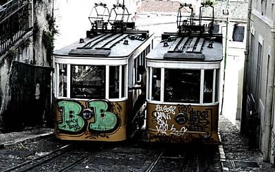 Photograph - Lisbon Tram by Gabriel Calahorra