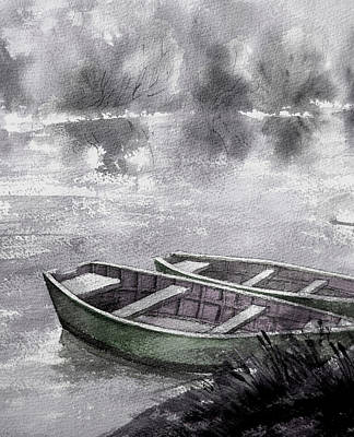 Listen To Silence-3 Art Print by Khromykh Natalia