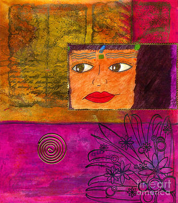 Karma Mixed Media - Listen What Goes Around Comes Around by Angela L Walker