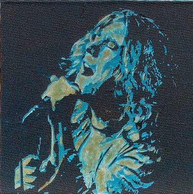 Blue Hues - Literally Robert Plant by Gary Hogben