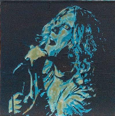 Literally Robert Plant Original by Gary Hogben