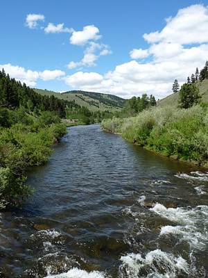 Blackfoot River Photograph - Little Blackfoot River by Terry Eve Tanner