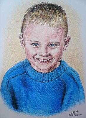 Little Boy Commissions Art Print by Andrew Read