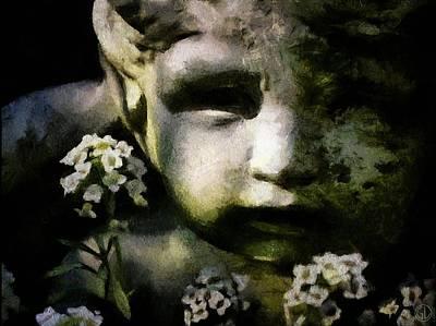 Little Boy Of Stone Print by Gun Legler