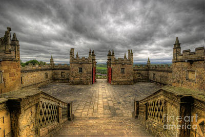 Photograph - Little Castle Entrance - Bolsover Castle by Yhun Suarez