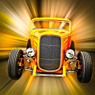 Photograph - Little Deuce Coupe by Steve McKinzie
