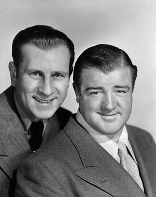Ev-in Photograph - Little Giant, From Left Bud Abbott, Lou by Everett