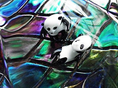 Photograph - Little Glass Pandas 12 by Sarah Loft