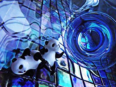 Photograph - Little Glass Pandas 14 by Sarah Loft