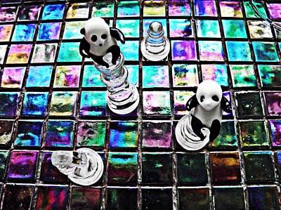 Photograph - Little Glass Pandas 26 by Sarah Loft