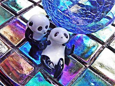 Photograph - Little Glass Pandas 28 by Sarah Loft