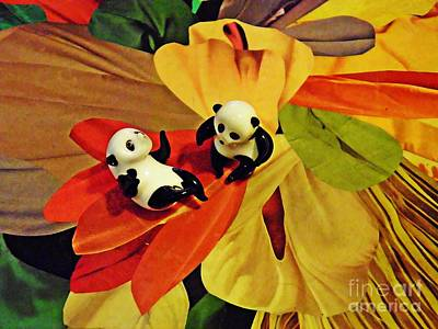 Photograph - Little Glass Pandas 50 by Sarah Loft