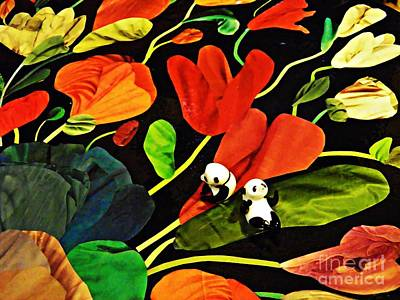 Photograph - Little Glass Pandas 56 by Sarah Loft