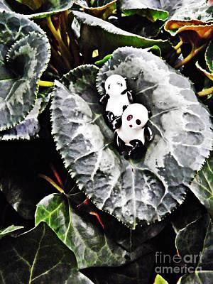 Photograph - Little Glass Pandas 64 by Sarah Loft