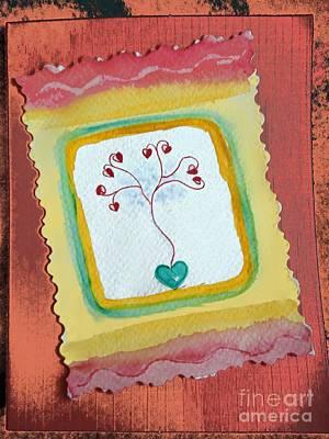 Painting - Little Hearts 5 by Anjali Vaidya