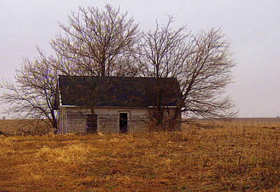 Photograph - Little House by Claude Oesterreicher