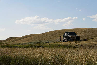 Photograph - Little House On The Plains by Lorraine Devon Wilke