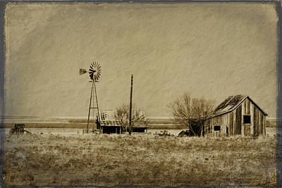 Digital Art - Little House On The Prairie by Melany Sarafis