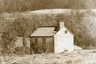 Photograph - Little House On The Prairie by Trish Tritz