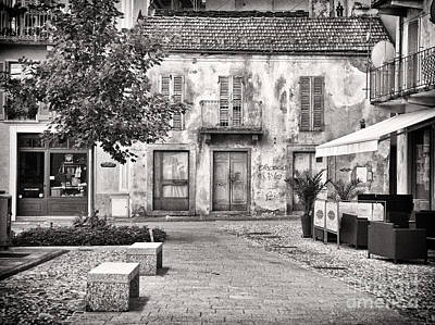 Photograph - Little Italian Corner by Silvia Ganora