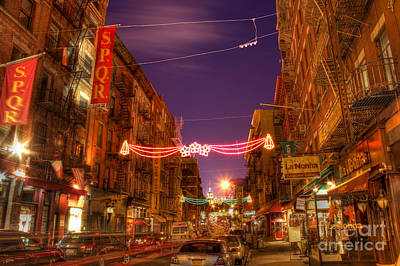 Photograph - Little Italy At Dawn by Lee Dos Santos