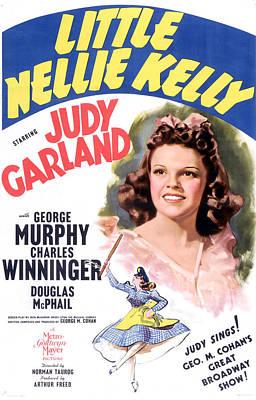 Little Nellie Kelly, Judy Garland, 1940 Art Print by Everett