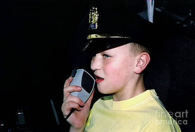 Photograph - Little Officer 4 by Susan Stevenson