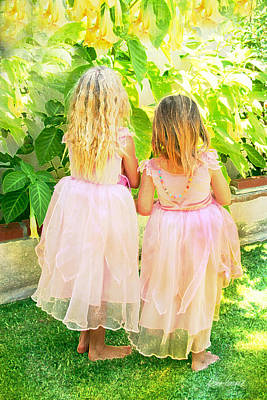 Photograph - Little Princesses by Diana Haronis