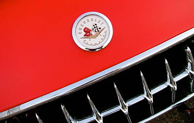 Photograph - Little Red Corvette by Rhonda Jones