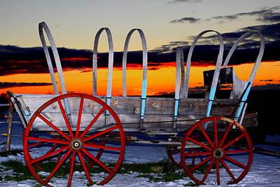 Little Red Wagon Original by Tom Johnson