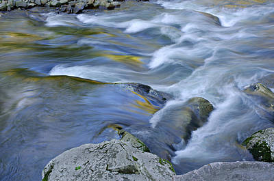 White River Scene Photograph - Little River Great Smoky Mountains by Dean Pennala