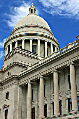 Photograph - Little Rock Capital Building  by Sheila Kay McIntyre