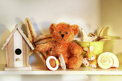 Photograph - Little Rusty Teddy Bear by Sandra Cunningham