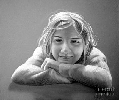 Drawing - Little Smile by Eleonora Perlic