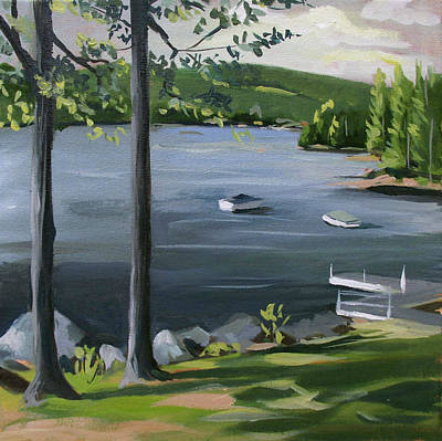 Painting - Little Squam In June by Nancy Griswold