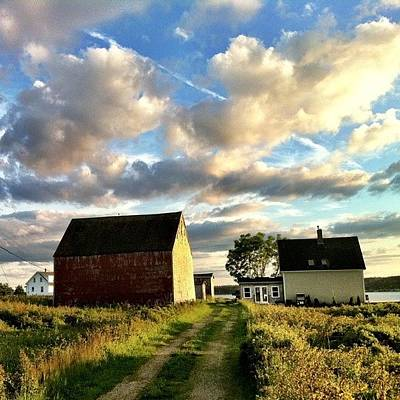 Summer Photograph - Little Tancook Island Farmhouse by Luke Kingma