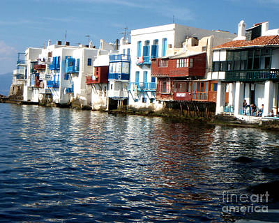 Hellas Photograph - Little Venice by Rebecca Margraf